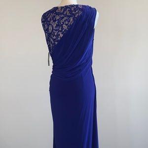 Elegant Cocktail Maxi Dress